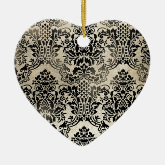 Classic PJ Textured Damask Products. Ceramic Ornament