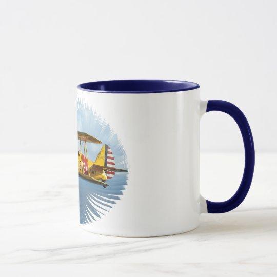 classic plane mug
