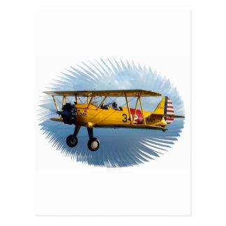 classic plane post card