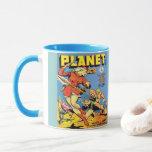 CLASSIC PLANET COMICS ILLUSTRATION MUG