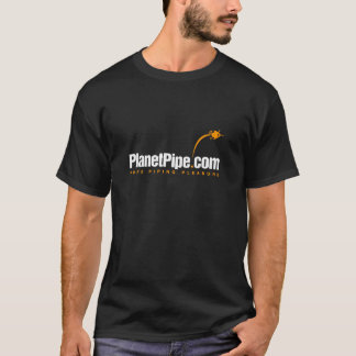 Classic PlanetPipe T-Shirt on dark