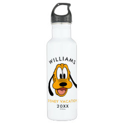Water Bottle (24 oz) with Pluto design
