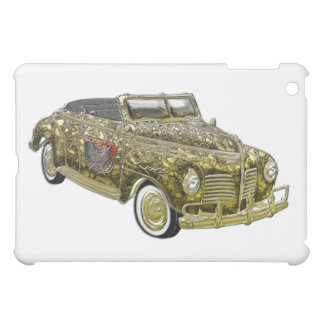 Classic Plymouth Custom Gold Convertible iPad Mini Cover