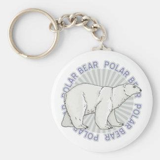 Classic Polar Bear Keychain