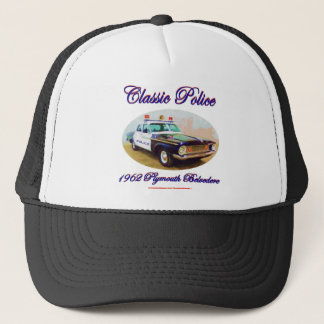 Classic Police1962 Plymouth Belvedere Trucker Hat