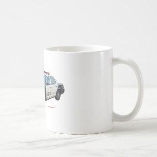 Classic_Police_Car_Black_White Coffee Mug