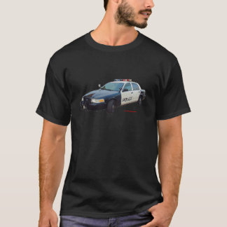 Classic_Police_Car_Black_White T-Shirt