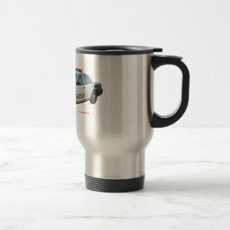 Classic_Police_Car_Black_White Travel Mug