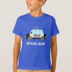 Classic Police Car with Siren For Kids T-Shirt