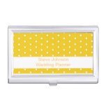 Classic Polka Dot Pattern Business Card Case