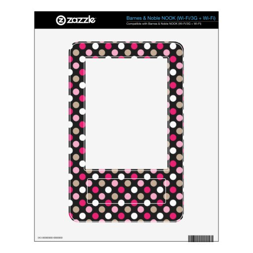 Classic Polkadots Skins For NOOK