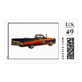 Classic Pontiac Convertible Stamps