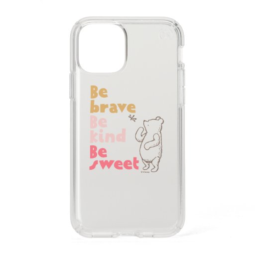 Classic Pooh | Be Brave, Be Kind, Be Sweet Speck iPhone 11 Pro Case