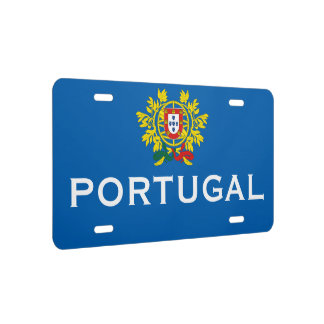 Classic Portugal Crest License Plate Frame