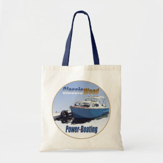 Classic Power-Boating Budget Tote Bag