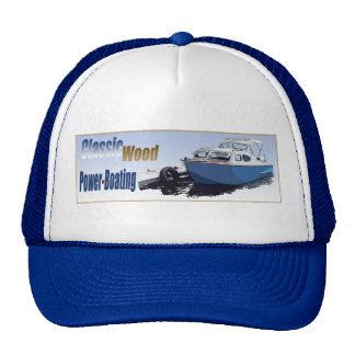 Classic Power-Boating Trucker Hats