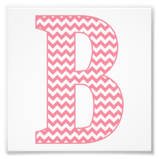 letter f video classic preppy pink chevron letter b monogram photo print 22817 | classic preppy pink chevron letter b monogram photo print rb4d6b6423e604f38b236f8a85cf88b08 fk99 8byvr 512