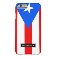 Classic Puerto Rican Flag Barely There iPhone 6 Case