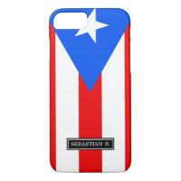 Classic Puerto Rican Flag iPhone 7 Case