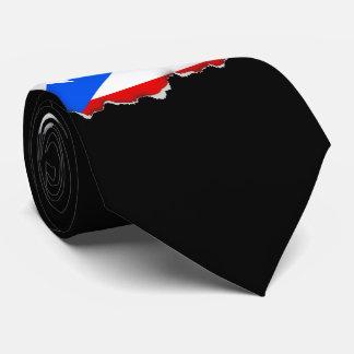 Classic Puerto Rican Flag Tie