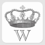 Classic Queen's Crown Stickers