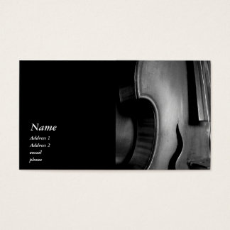 Classic Quinton (5-string) Business Card