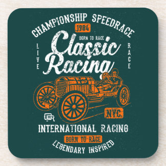 Classic Racing Born To Race International Champion Coaster
