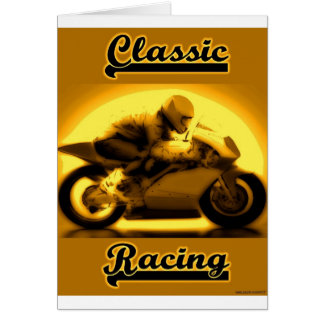 Classic Racing Greeting Card