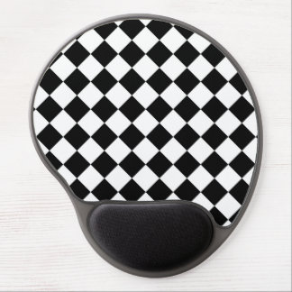 Classic Racing Flag Checkers Style Gel Mouse Pad