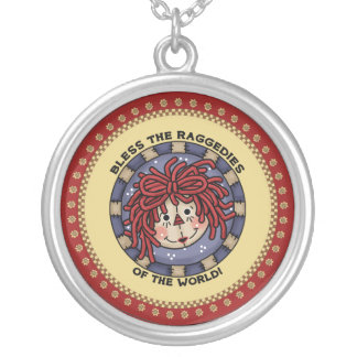 Classic Raggedy Ann Necklace