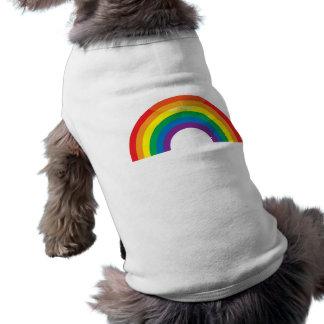 Classic Rainbow Dog Tee Shirt