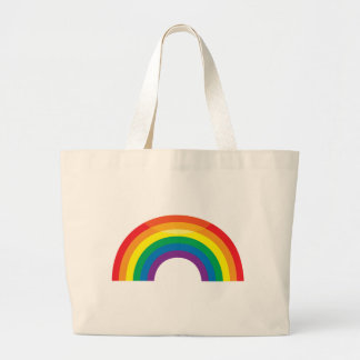 Classic Rainbow Large Tote Bag