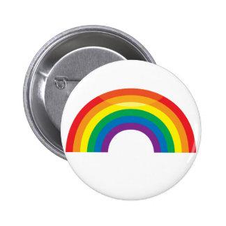 Classic Rainbow Pinback Button