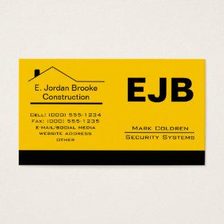Classic Realtor-Construction-Handyman 1a Business Card