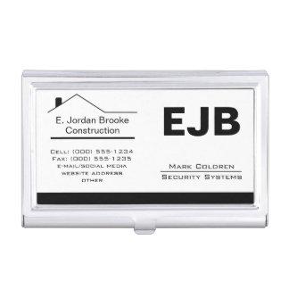 Classic Realtor-Construction-Handyman 1b Business Card Holder