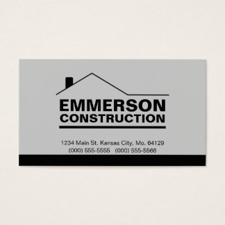 Classic Realtor-Construction-Handyman 2b Business Card