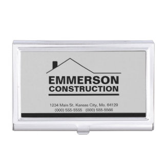 Classic Realtor-Construction-Handyman 2b Case For Business Cards
