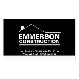 Classic Realtor-Construction-Handyman 2d Double-Sided Standard Business Cards (Pack Of 100)