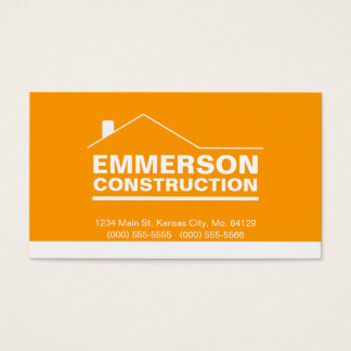 Classic Realtor-Construction-Handyman 2f Business Card