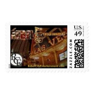 "Classic ""Rebel City"" Postage Stamp"