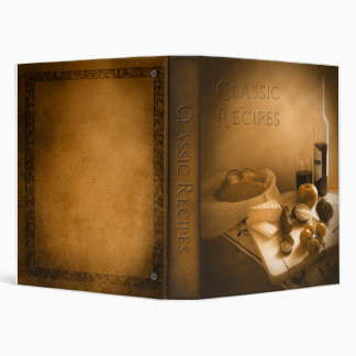 Classic Recipes Binder