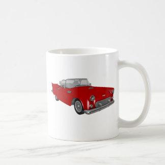 Classic Red 50's Car Coffee Mug
