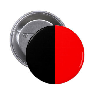 Classic Red & Black 2 Inch Round Button