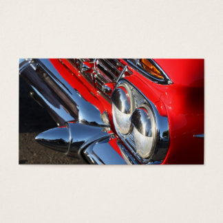 Classic Red Car Business cards