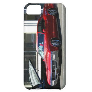 Classic red car cover for iPhone 5C