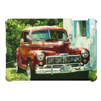Classic Red Car Collectible Cover For The iPad Mini
