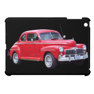 Classic Red Car Collectible iPad Mini Covers