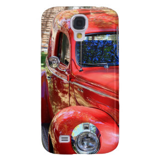 Classic Red Car Galaxy S4 Cover