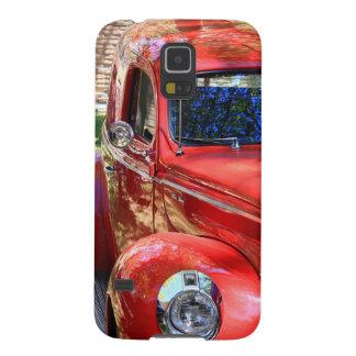 Classic Red Car Galaxy S5 Case
