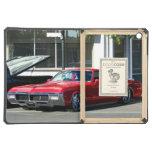 Classic Red Car iPad Air Cases